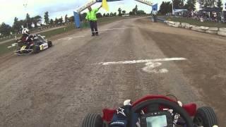 Kart Yamaha 125 tierra