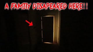 A FAMILY DISAPPEARED at THIS HAUNTED ABANDONED MANSION IN THE WOODS | MOE SARGI