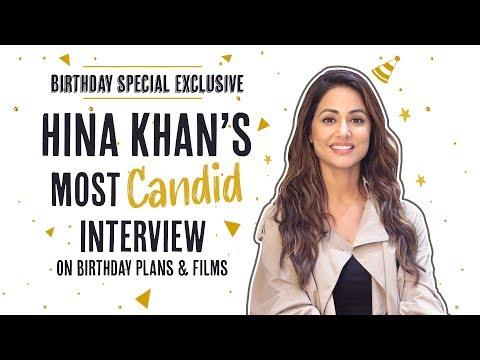 Hina Khan REVEALS her birthday plans, meeting Priyanka Chopra and Komolika | Birthday Special