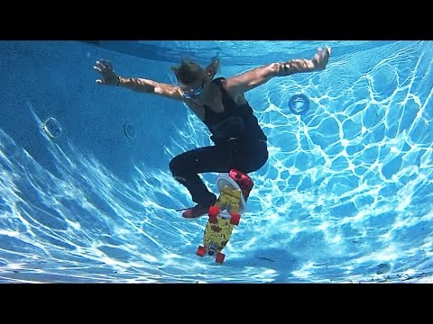Underwater 360 Flip!!