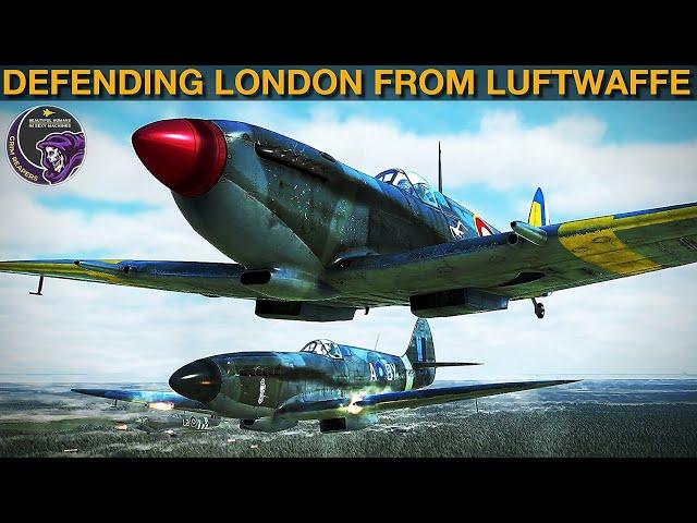 1940 Battle Of Britain Fun Reenactment   IL-2 Sturmovik