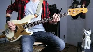 Weezer - La Mancha Screw Job - Bass cover