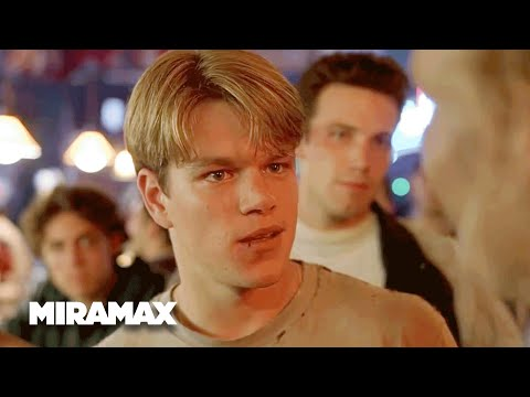Good Will Hunting | 'My Boy's Wicked Smart' (HD) - Matt Damon, Ben Affleck | MIRAMAX