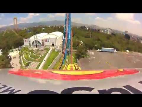 Superman El Último Escape - Six Flags México POV 2017