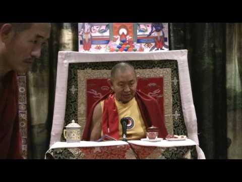 Garchen Rinpoche: Bardo Teaching  (Oct. 28, 2016 Stockholm)