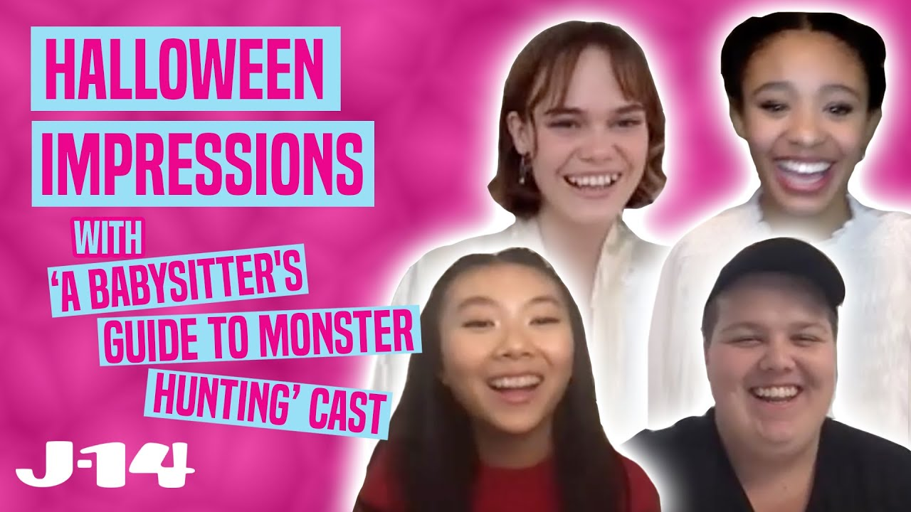 ABGTMH Netflix Cast Does Halloween Impressions