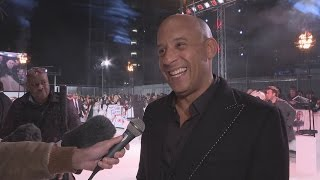 xXx: Return Of Xander Cage premiere: Vin Diesel's kids think he's mega cool