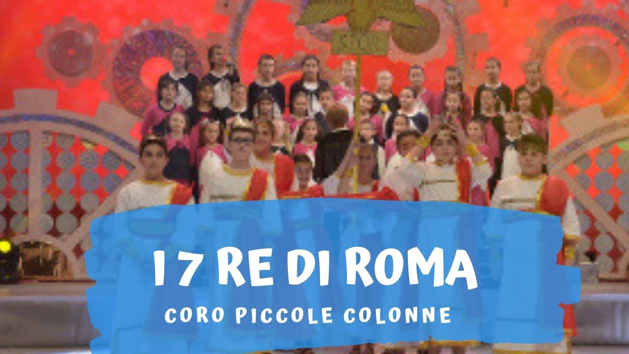 La Canzone Dei 7 Re Di Roma Canzone Per Bambini Per Imparare La