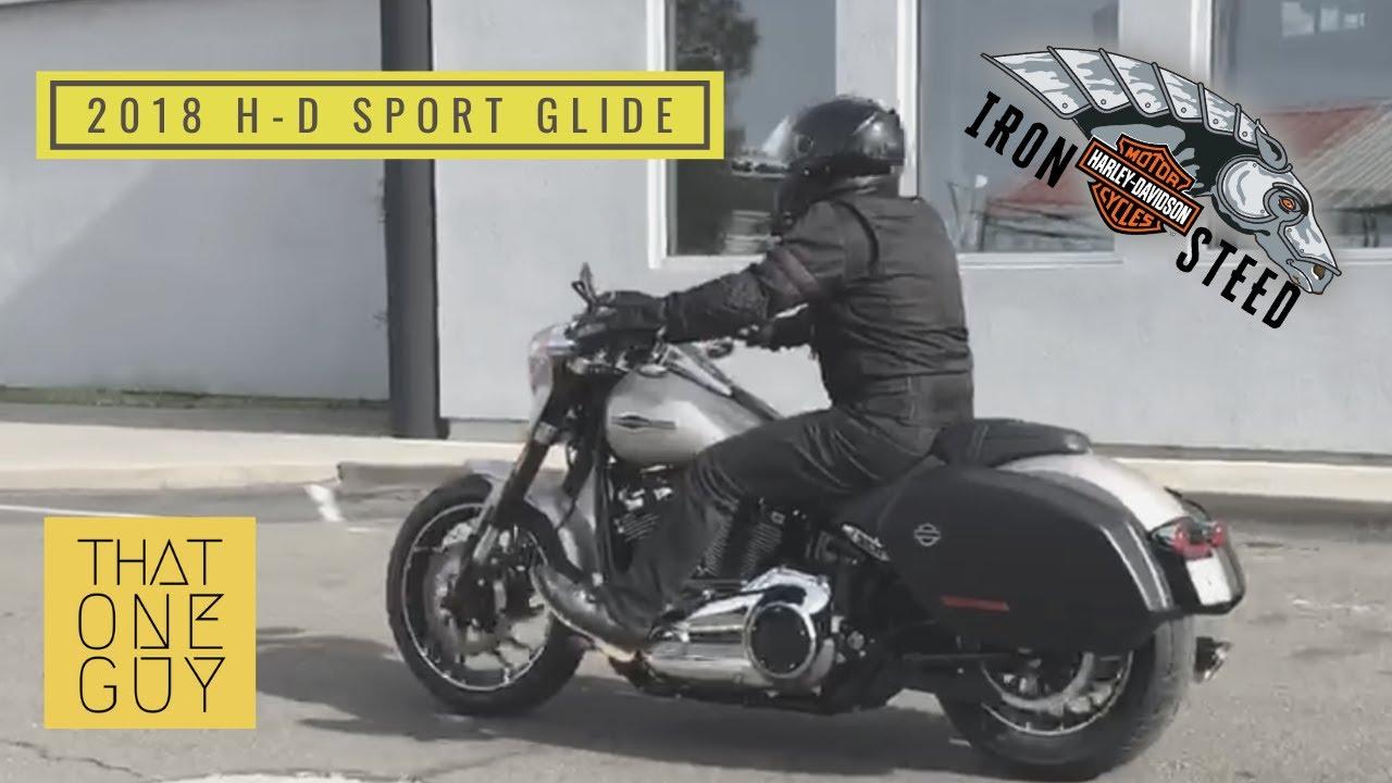 2018 harley davidson sport glide test ride a sporty. Black Bedroom Furniture Sets. Home Design Ideas