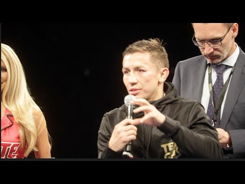 GENNADY GOLOVKIN IMMEDIATE REACTION TO HIS DRAW W/ SAUL 'CANELO' / CANELO v GOLOVKIN