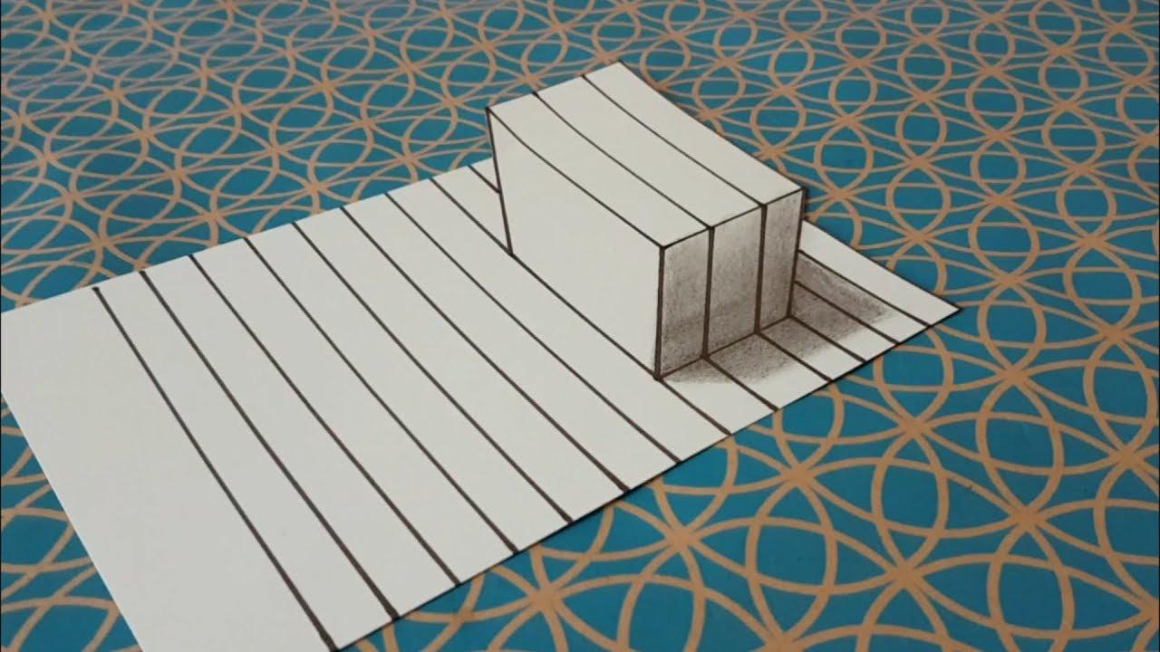 Comment Dessiner Illusion D Optique Dessin Facile Simple Tutoriel