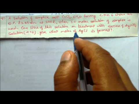 Osmotic pressure of solution 2 Solved Numericals