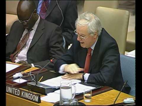 MaximsNewsNetwork: U.N. S-C: Amb MARK LYALL GRANT, Amb YUKIO TAKASU (UNTV)
