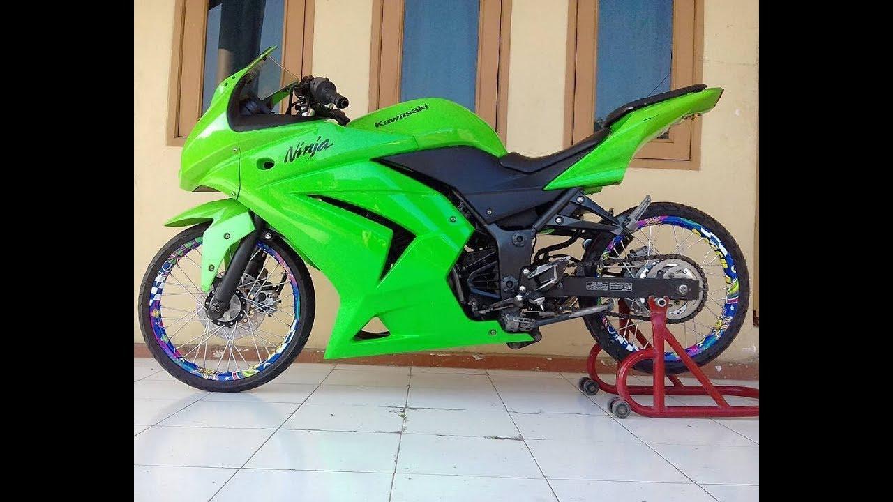 Contoh Modifikasi Kawasaki Ninja 250 Dengan Velg Jari Jari By