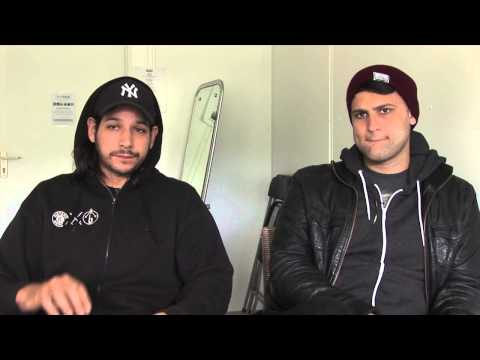 The Gaslight Anthem interview - Benny and Alex