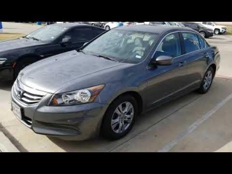 Used 2012 Honda Accord Sdn Houston TX Missouri City, TX #0067705A
