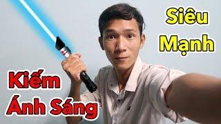Lâm Vlog - Lần Đầu Chơi Thử Kiếm Ánh Sáng Giá 3 triệu | Đèn laze Siêu Mạnh - Laser $150