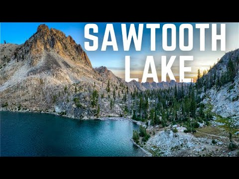 BACKPACKING SAWTOOTH LAKE | ALPINE LAKE | SAWTOOTH NATIONAL FOREST | IDAHO