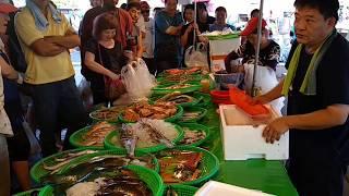 Taiwan-seafood auction - Kaohsiung Kezailiao Fishing Port