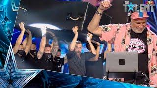 Un DJ de 62 años hace realidad el MEME del ataúd | Audiciones 1 | Got Talent España 2021