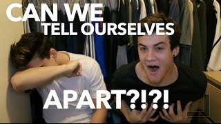 Can We Tell Ourselves Apart!?!? Baby Picture Challenge // Dolan Twins