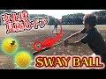 【野球】プロレベル!変化球が打てるようになる野球ギアが衝撃の切れ味だった!【SWAY BALL】