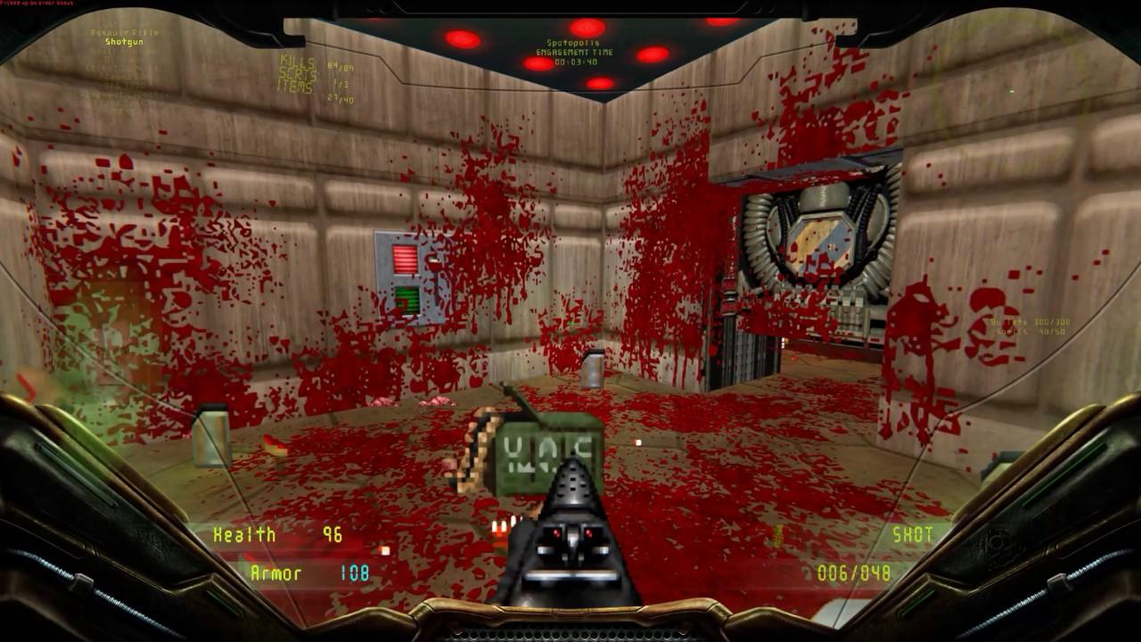 Brutal Doom v20b GZDoom ZDL Ultimate HUD Mod