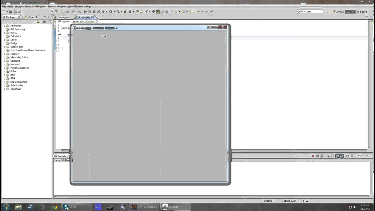 Line drawing java : Java d graphics drawing rectangles episode youtube