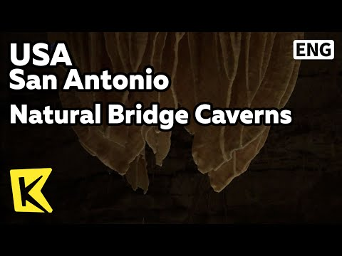 【K】USA Travel-San Antonio[미국 여행-샌 안토니오]내추럴 브릿지 동굴/Natural Bridge Caverns/Stalactite/Stalagmite