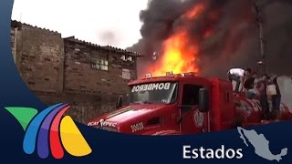 Incendio fuera de control en Xalostoc | Noticias del Estado de México