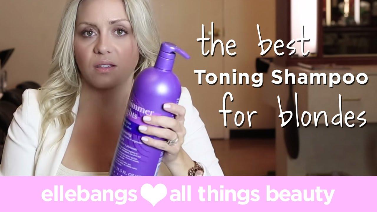 The best toning shampoo for blondes youtube pmusecretfo Choice Image