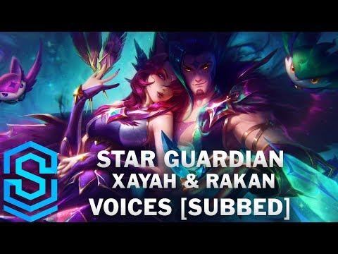Voice - Star Guardian Xayah & Rakan [SUBBED] - English