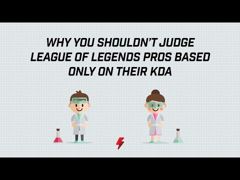 Why you shouldn't judge League of Legends pros based only on their KDA