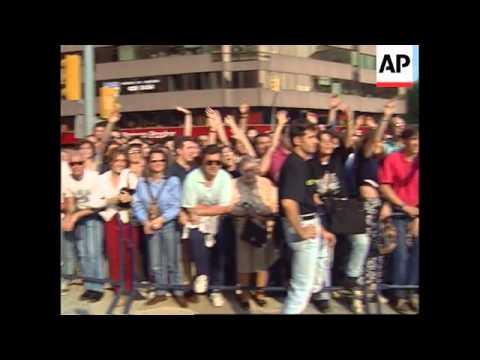 1996 - Spain - Fashion Cafe Comes To Barcelona