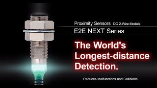 Proximity sensor: E2E NEXT Series