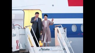 President Xi arrives in Italy | CCTV English