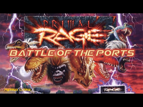 Battle of the Ports - Primal Rage (プライマルレイジ) Show #155 - 60fps