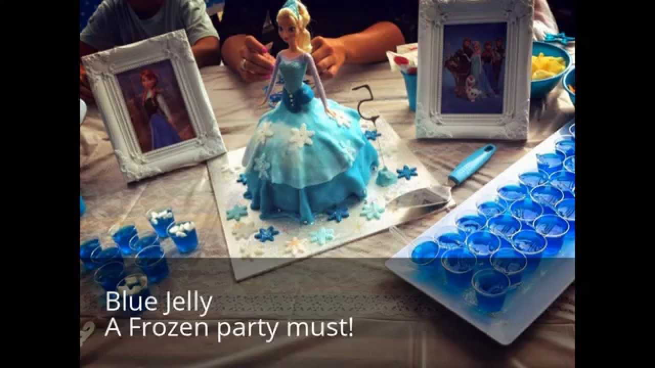 frozen birthday party ideas food ideas from australia s party