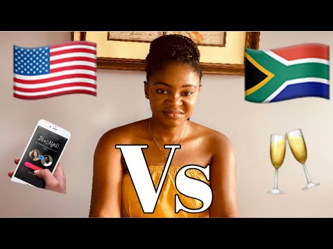 DATING IN AMERICA vs DATING IN SOUTH AFRICA!!!!   ONLINE DATING   ENTANGLEMENT