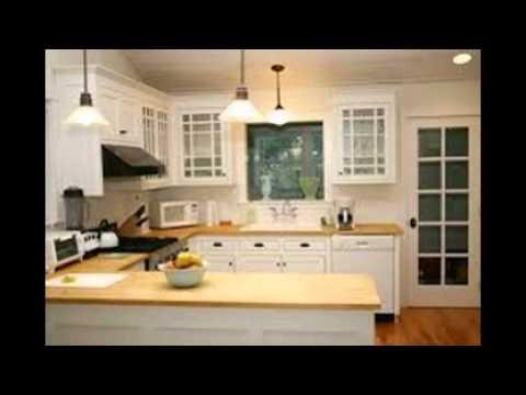 Cheap White Kitchen Cabinets - YouTube
