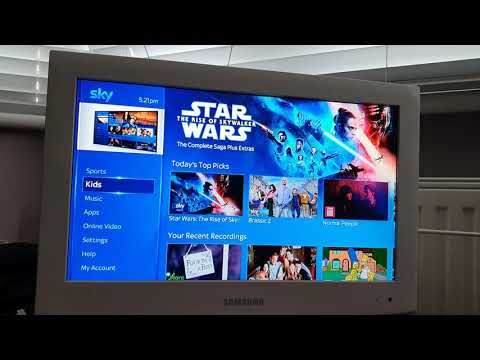 Sky Q Mini Up And Remote Setup And App Missing Fix Disney Youtube