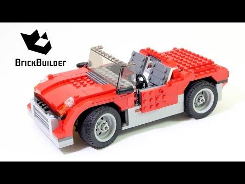Lego Creator 7347 Sports car - Lego Speed Build