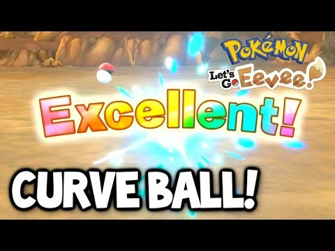 How to do a Curve Ball in Pokémon Let's GO!