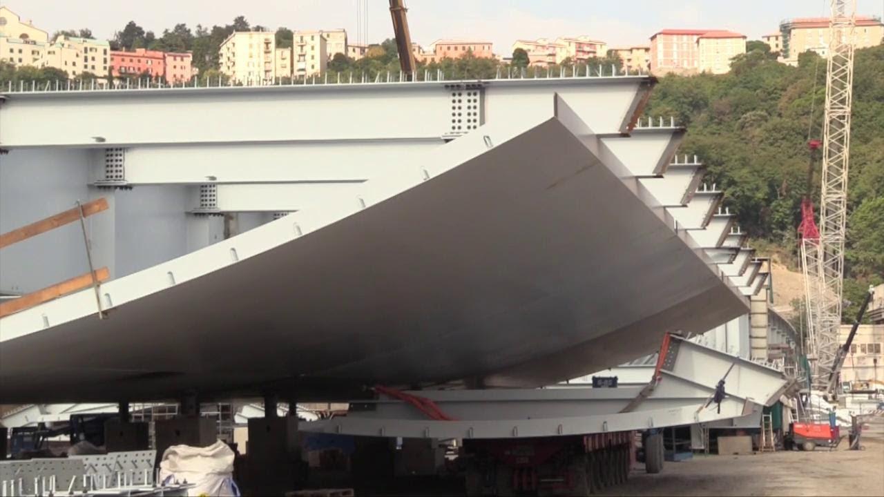 Genova, come cresce il nuovo ponte: viaggio tra gli impalcati di acciaio, presto elevati sulle pile