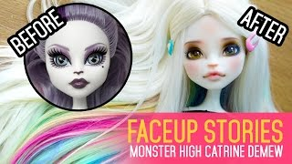 Repainting Dolls - MH Catrine DeMew - Faceup Stories ep.42