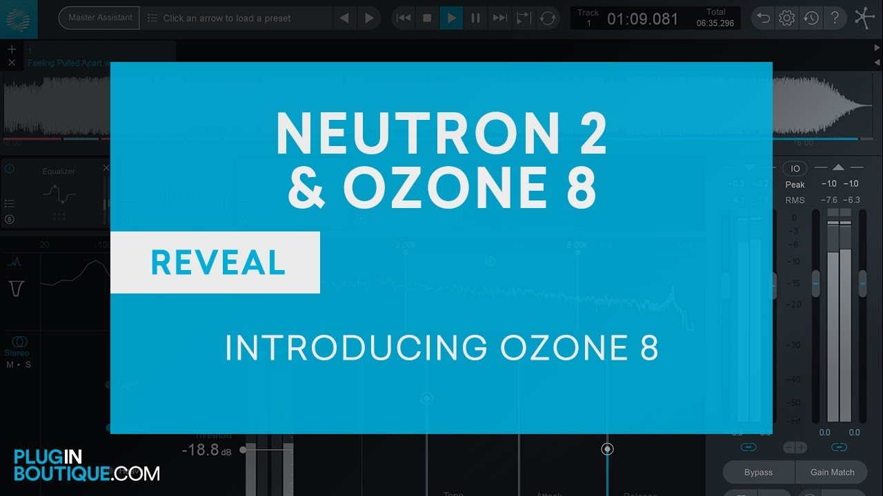 iZotope Ozone 8 - What's New in iZotope Ozone 8 Tutorial