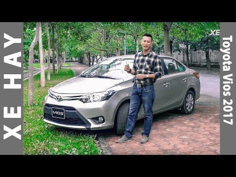 nhận xét xe Toyota Vios 1.5E CVT 2016 2017 mới giá 588 triệu [XEHAY.VN]
