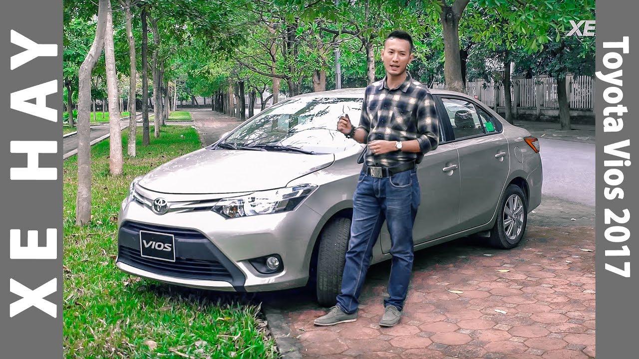 Đánh giá toyota vios 2016   Đánh giá xe Toyota Vios 1.5E CVT 2016 2017 mới giá 588 triệu [XEHAY.VN]