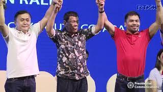 Partido Demokratiko Pilipino - Lakas ng Bayan (PDP-Laban) South Cotabato Campaign Rally 3/26/2019