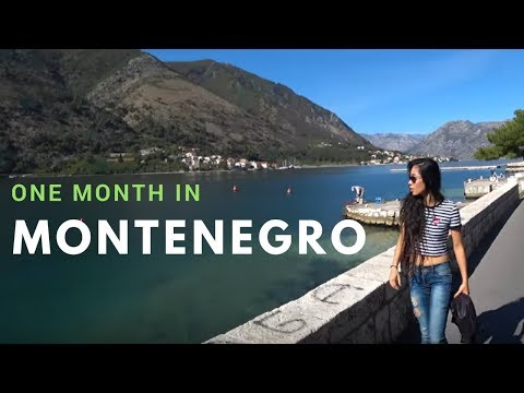 What can $1000/month rent you in Montenegro? One month in KOTOR BAY.